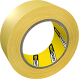 Putzband gelb / Plasterer Tape yellow